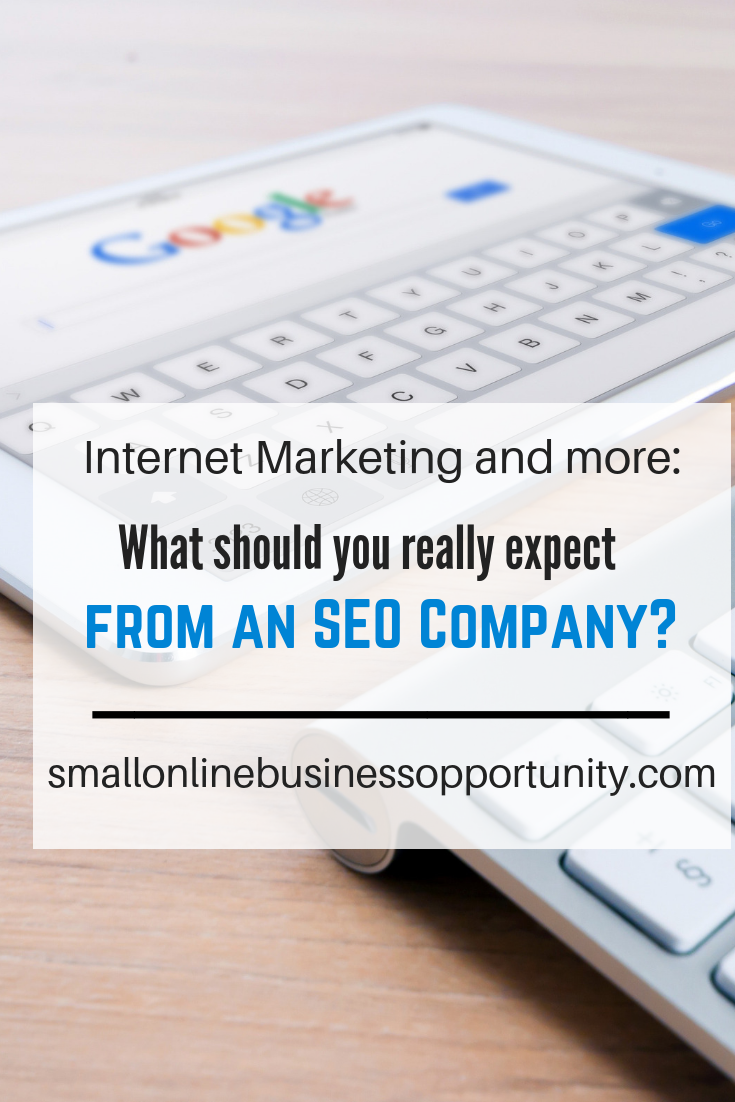 Internet Marketing and more - What Can You Really Expect From An SEO Company