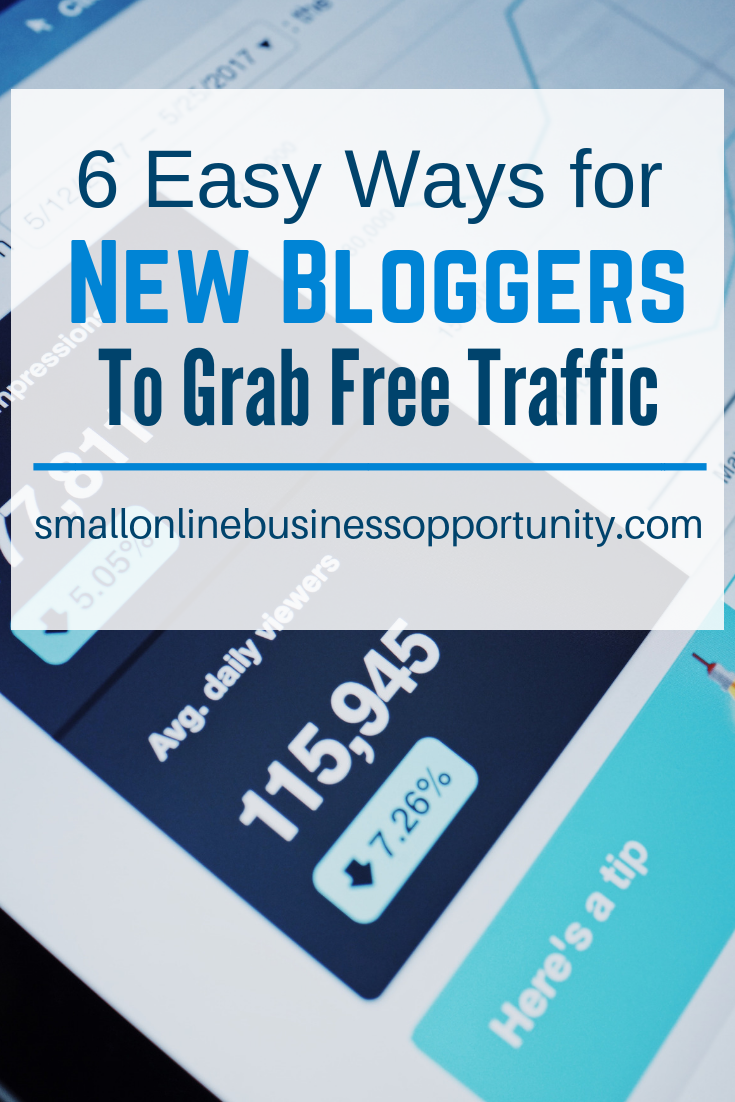 6 Easy Ways For New Bloggers To Grab Free Traffic