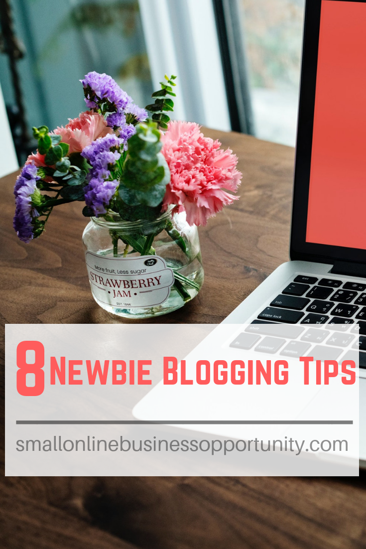 8 Newbie Blogging Tips