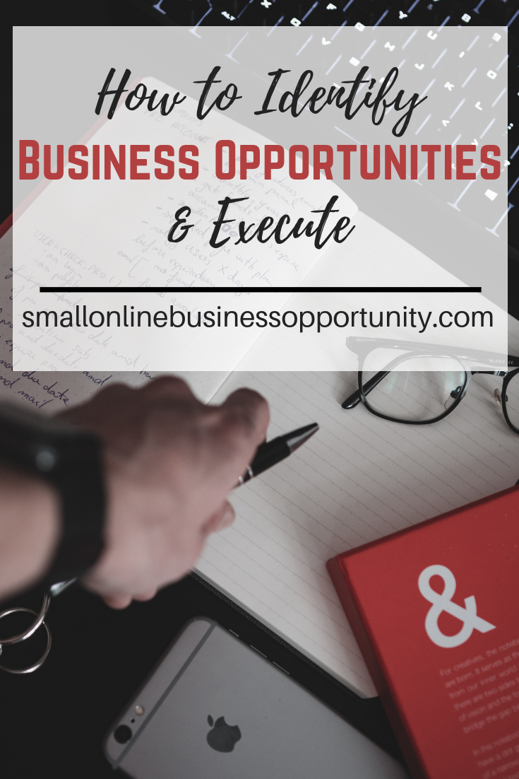 How To Identify Business Opportunities & Execute