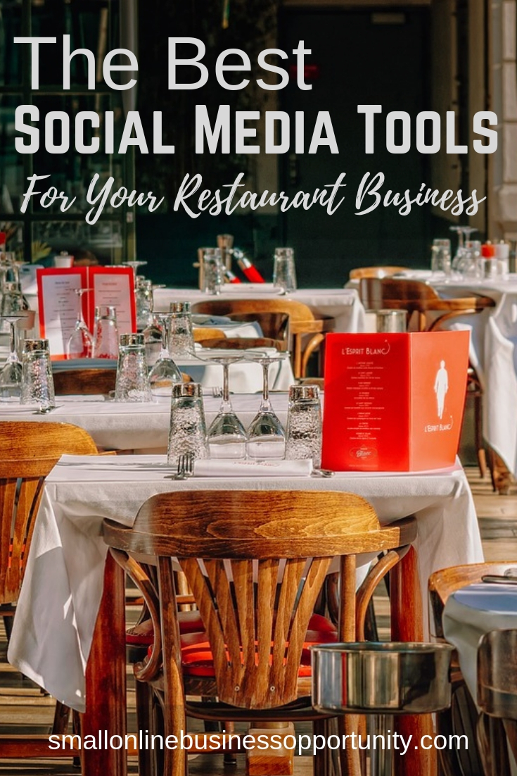 The Best Social Media Tools For Your Restaurant Business
