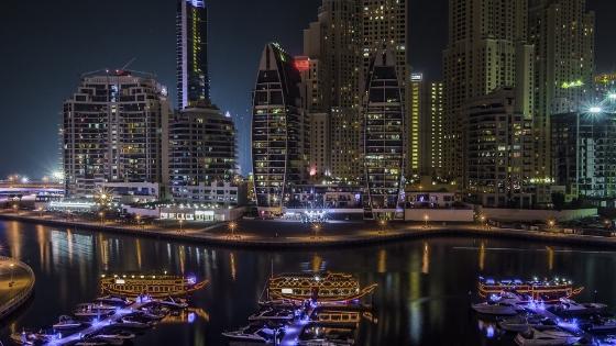 Dubai Night Lights