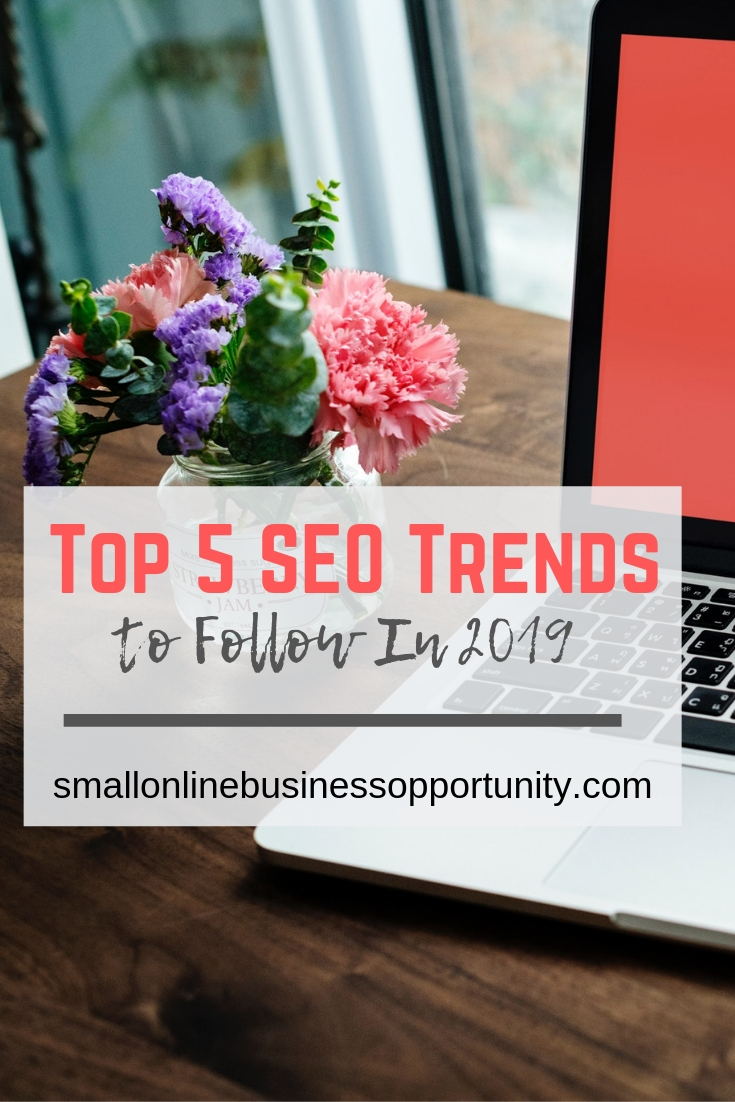 Top 5 SEO Trends to Follow in 2019