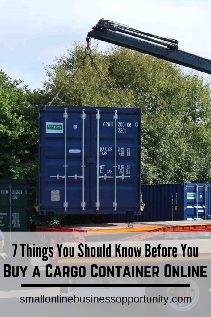 7 Things You Should Know Before You Buy A Cargo Container Online