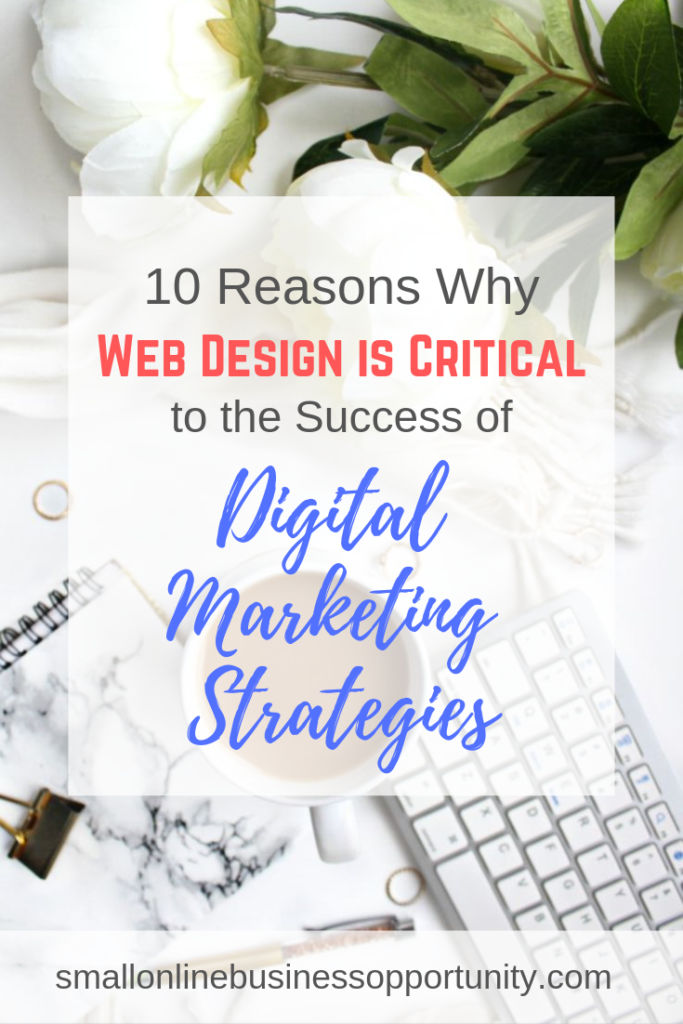 10 Reasons Why Web Design is Critical to the Success of Digital Marketing Strategies