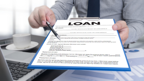 Self-employed loan agreement