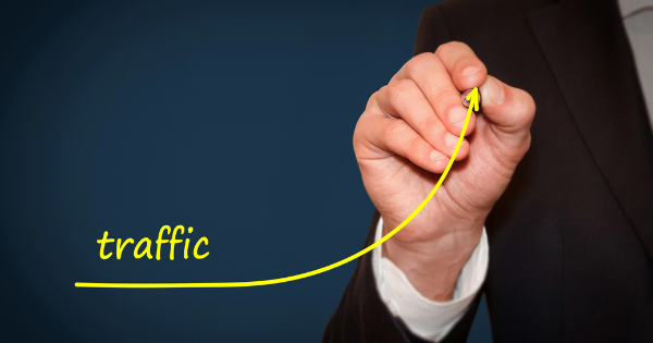 Boost website traffic curve
