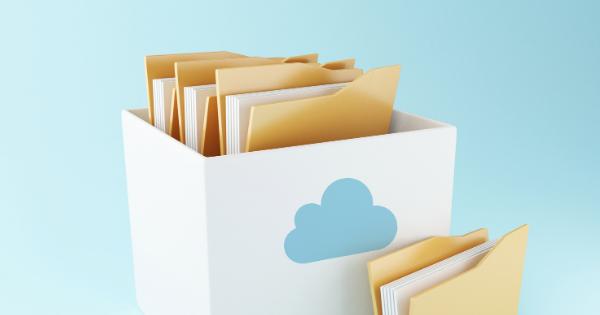 Files saved cloud storage