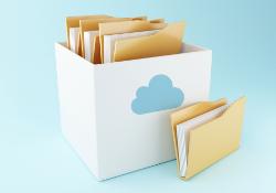 Store in cloud
